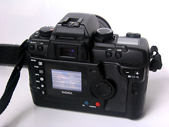 Sigma SD9 - Back of the SD9