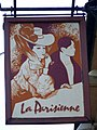 Sign for La Parisienne - geograph.org.uk - 1141285.jpg
