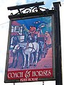 Sign for the Coach and Horses - geograph.org.uk - 1447144.jpg