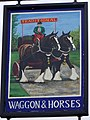 Sign for the Waggon and Horses - geograph.org.uk - 1503989.jpg