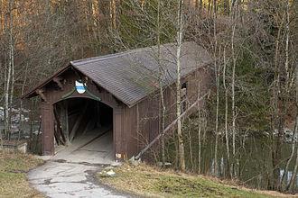 Sihlbrugg - Babenwaag bridge in Sihlbrugg