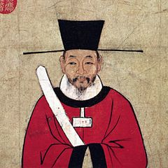 Contemporary painting of Sima Guang