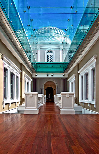 National Museum of Singapore - The Glass Passage.