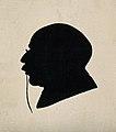 Sir Robert Jones. Silhouette. Wellcome V0003133.jpg