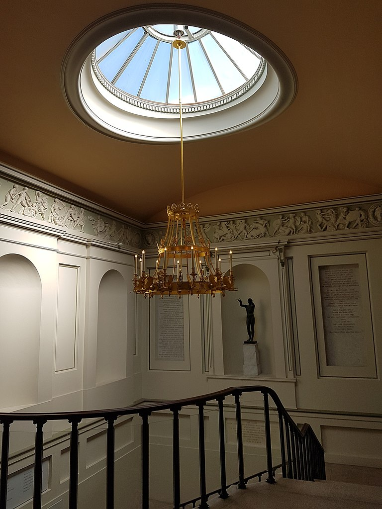 Stair Box In Bedroom: File:Skylight, Chandelier And Stairs, Ashmolean Museum