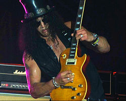 Slash live in Rome}