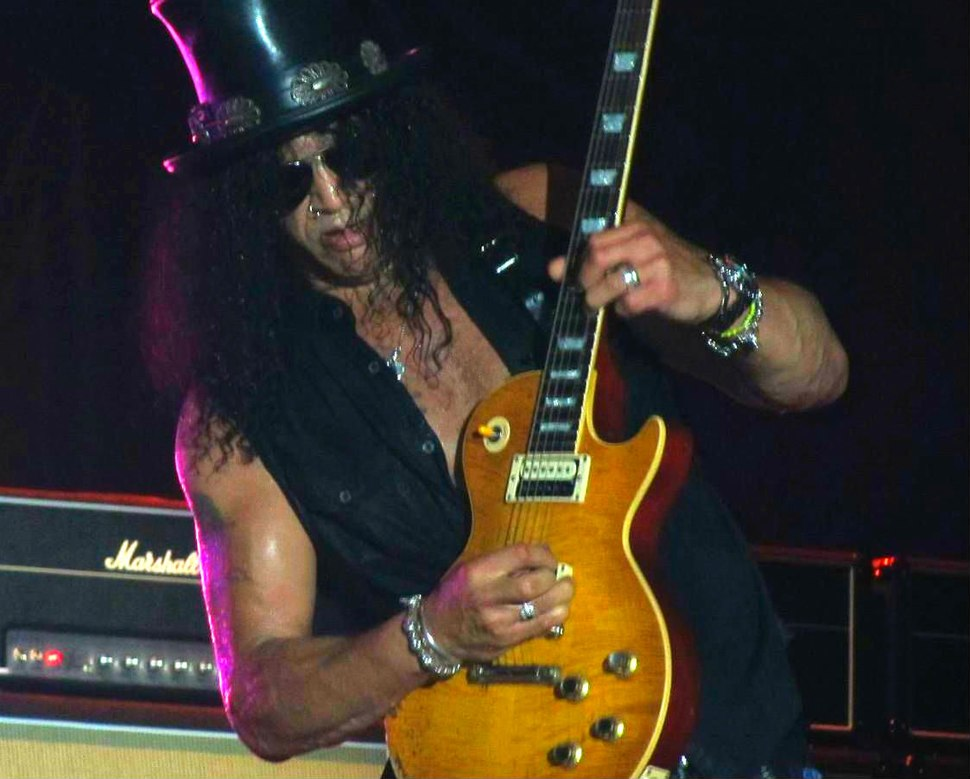 Slash live in Rome by Paride
