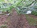 Slatehole Bridge, ruins, Auchinleck Estate, East Ayrshire.jpg