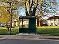 Small Copper bus stop, Momples Road, Harlow, April 2021 (2).jpg