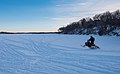 Snowmobile on Lake Minnetonka - Winter in Minnesota (25088069107).jpg