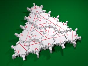 Socolar–Taylor tile - Image: Socolar Taylor 3D tiling example