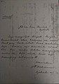 Soekarno's thank-you letter to Faradj Martak.jpg