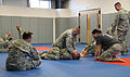 Soldiers learn basics of hand-to-hand combat 012714-A-ZZ999-001.jpg