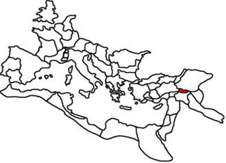Sophene - Roman province of Sophene, in the year 120