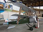 Sopwith Triplane at Central Air Force Museum Monino pic3.JPG