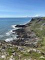 South Gower coast towards Worm's Head (geograph 6896925).jpg