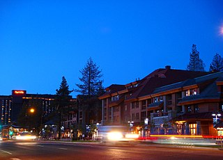 South Lake Tahoe, California City in California, United States