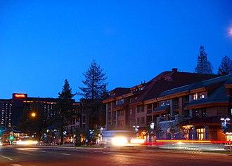 South Lake Tahoe, California - South Lake Tahoe near Heavenly Village