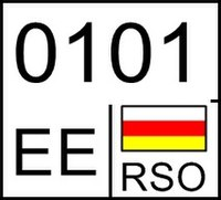South Ossetia motorycle license plate.jpg