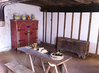 Medieval Merchant's House - The central hall