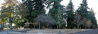 Mt. Scott-Arleta, Portland, Oregon - Image: Southeast corner of Mt Scott Park, Portland, Oregon