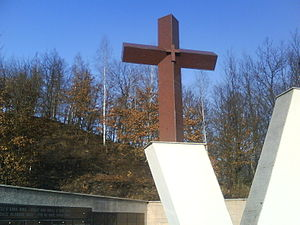 Križančevo Selo killings - In April 2010, a monument  was visited by Croatian and Bosnian dignitaries.