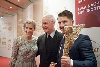Sportler des Jahres Österreich 2016 Eva-Maria Brem Marcel Hirscher Bernhard Maier 2.jpg