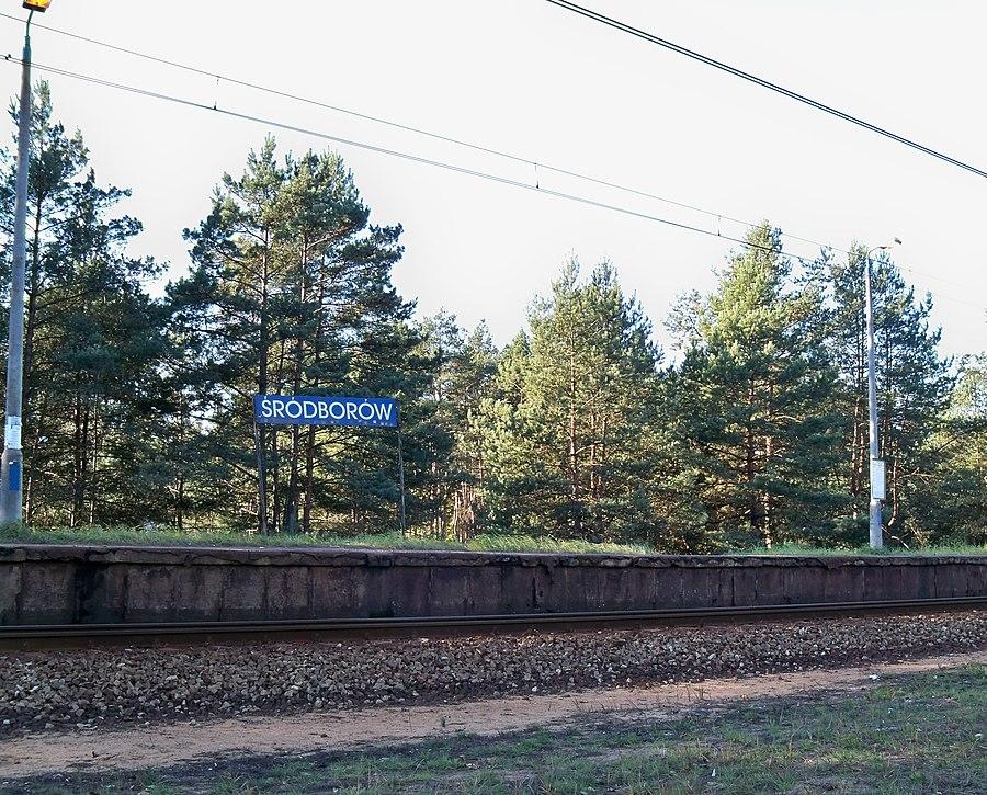 Śródborów railway station