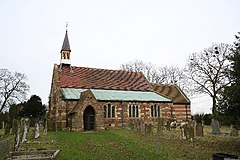 St.Oswald's church, Strubby, Lincs. - geograph.org.uk - 108085.jpg