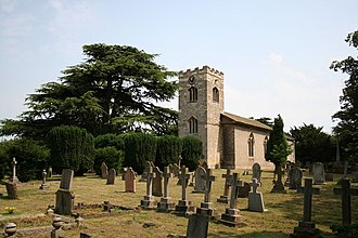 Kettlethorpe, Lincolnshire - Image: St.Peter and St.Paul's church, Kettlethorpe geograph.org.uk 195176
