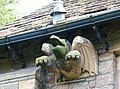 St. Mary's Church Wreay - dragon gargoyle - geograph.org.uk - 561750.jpg
