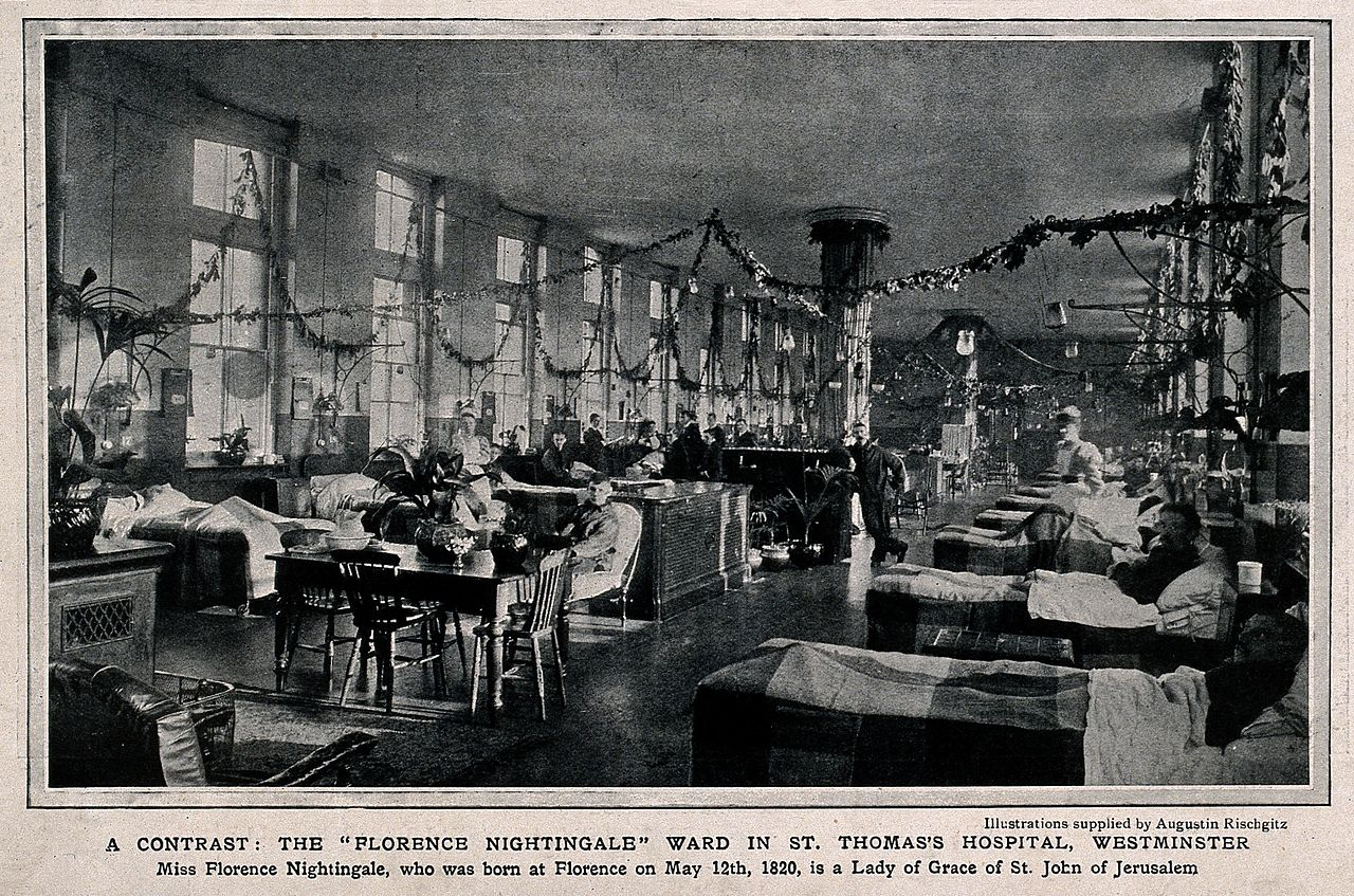 File St Thomas S Hospital The Quot Florence Nightingale