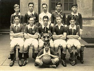 St. Andrew's Scots School - A youth football team of the school, champion in 1934.