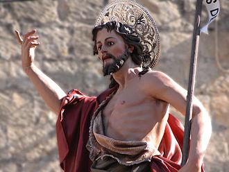 Xewkija - Statue of Saint John