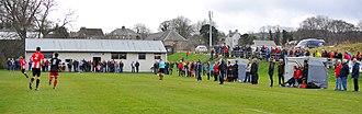 Tain - St Duthus v Brora Rangers April 2017