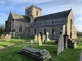 St Marys Church, Great Bedwyn Church in Great Bedwyn, England
