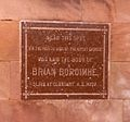 St Patrick's (COI) Cathedral, Armagh, plaque to Brian Boru.jpg
