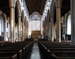 St Peter Mancroft - Nave and chancel