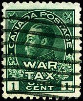 War Tax Stamp Wikipedia