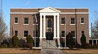 Stanton County Courthouse (Kansas) from W 1