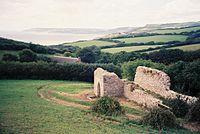 Stanton St. Gabriel, remains of parish church - geograph.org.uk - 464579.jpg
