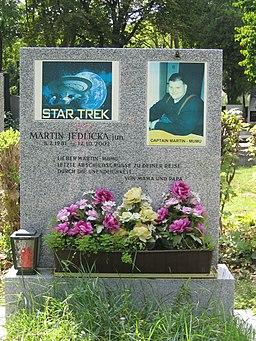 Star-Trek-Grab M. Jedlicka (Wiener Zentralfriedhof)