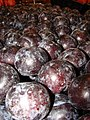 Starr-070730-7801-Prunus domestica-fruit-Foodland Pukalani-Maui (24262240464).jpg