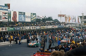 6 Hours of Nürburgring - The crowd at the start of the 1973 event