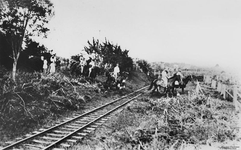 File:StateLibQld 1 65575 Prince Henry, Duke of Gloucester, riding with a group people on his visit to Buderim, 1934.jpg
