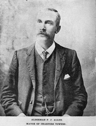 City of Charters Towers - P. J. Allen, Mayor of Charters Towers, 1901