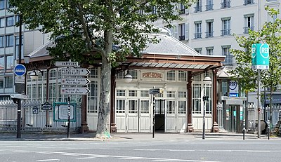 Bahnhof Port-Royal