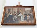 Station of the Cross in Saint Francis church in Warsaw - 08.jpg