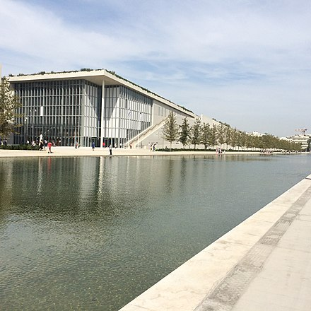 The Stavros Niarchos Foundation Cultural Centre, home of the Greek National Opera and the new National Library. Stavros Niarchos Foundation Cultural Center2.jpg