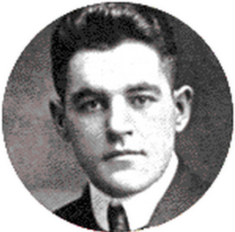 1916 College Football All-America Team - Stemer Horning of Colgate.
